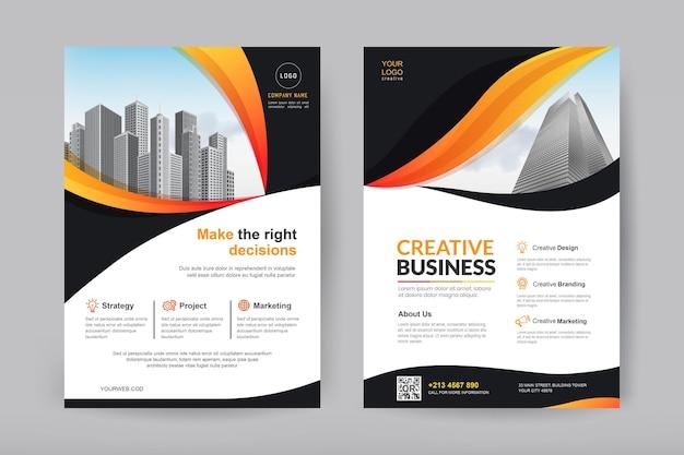 Conception de brochures d'entreprise