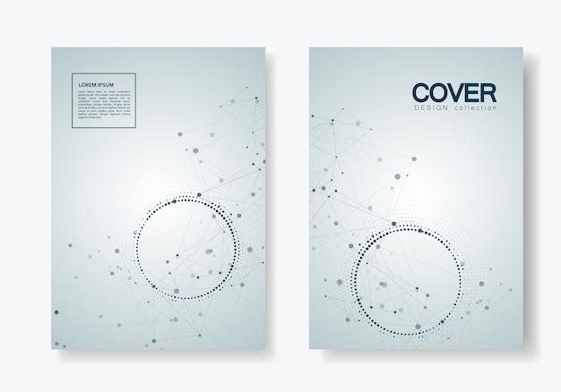 Conception de brochures sur la science, la médecine et la technologie