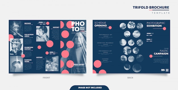 Conception de brochures à trois volets