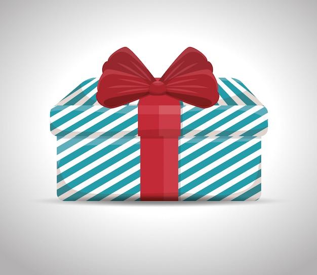 Conception de cadeau surprise