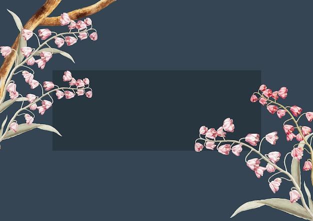 Conception de cadre floral