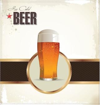 Conception de café de bière