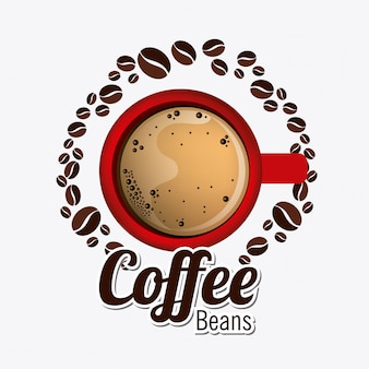 Conception de café.