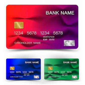 Conception de carte de crédit