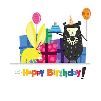 Conception de cartes d'anniversaire