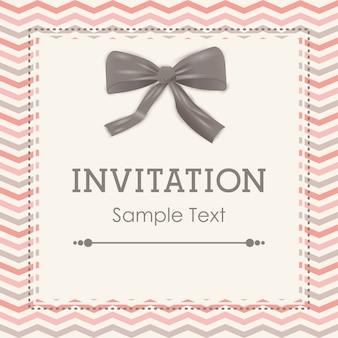 Conception de cartes d'invitation