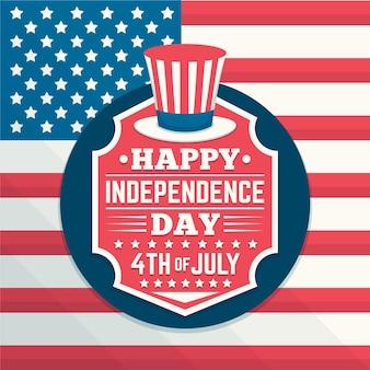Conception de célébration de la fête de l'indépendance