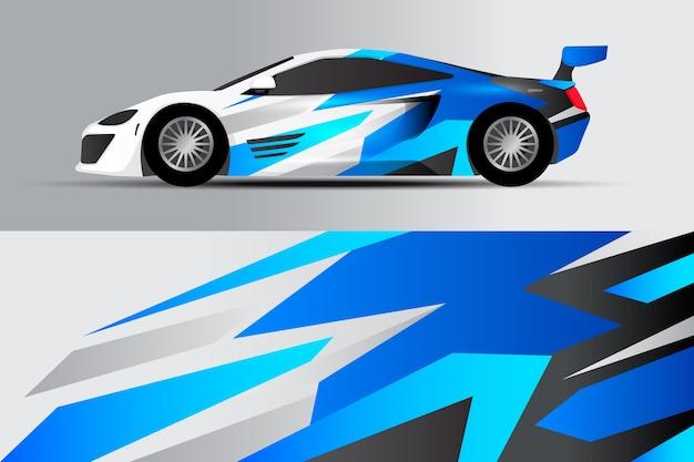 Conception de chaîne de voiture multicolore