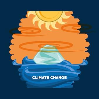 Conception de changement climatique
