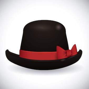 Conception de chapeau.