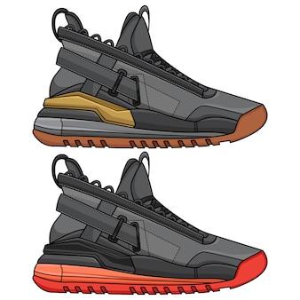 Conception de chaussures de basket