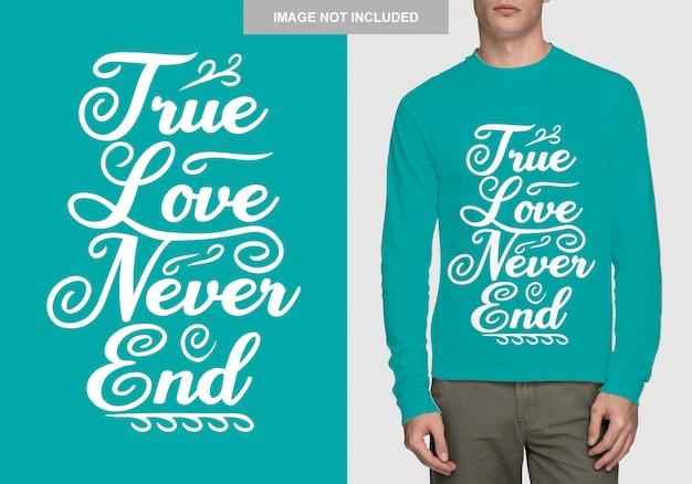 Conception de chemise de lettrage. typographie dessinée à la main