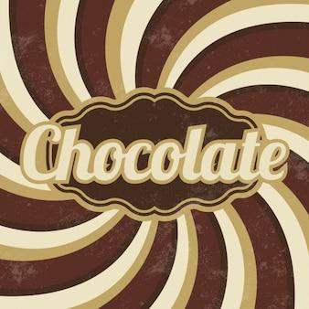 Conception chocolat fond
