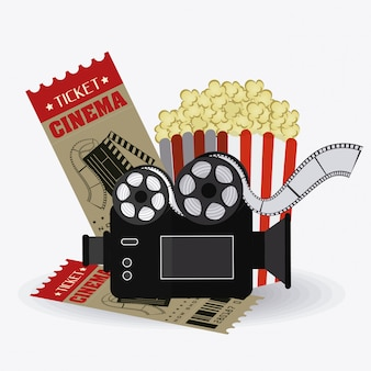 Conception de cinéma.