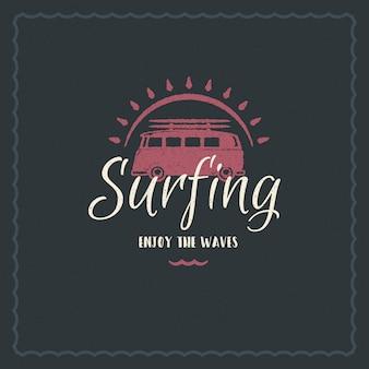 Conception de citation inspirante de typographie de vacances d'été pour une affiche ou un vêtement