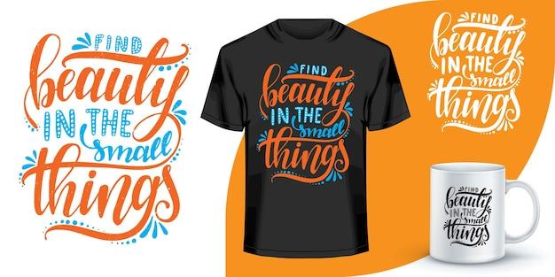 Conception de citations de lettrage pour t-shirt. conception de t-shirt de mots de motivation. conception de t-shirt de lettrage dessiné à la main. citation, conception de t-shirt de typographie