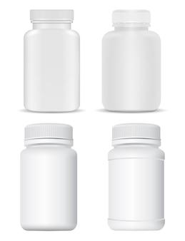 Conception de collection de boîtes à pilules