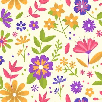 Conception de collection de motifs floraux