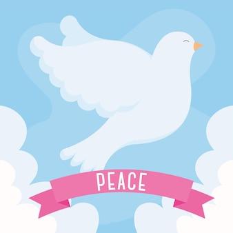 Conception de colombe de la paix