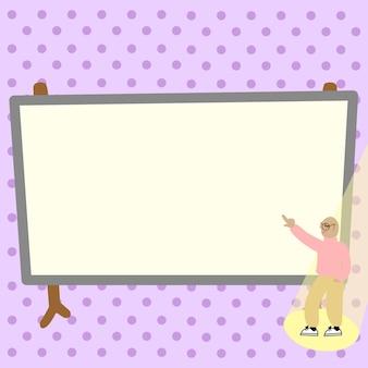 Conception colorée affichant un message, résumé discutant d'actualités importantes, conception de babillard, présentation d'informations sur l'annonce, présentation d'un rapport détaillé