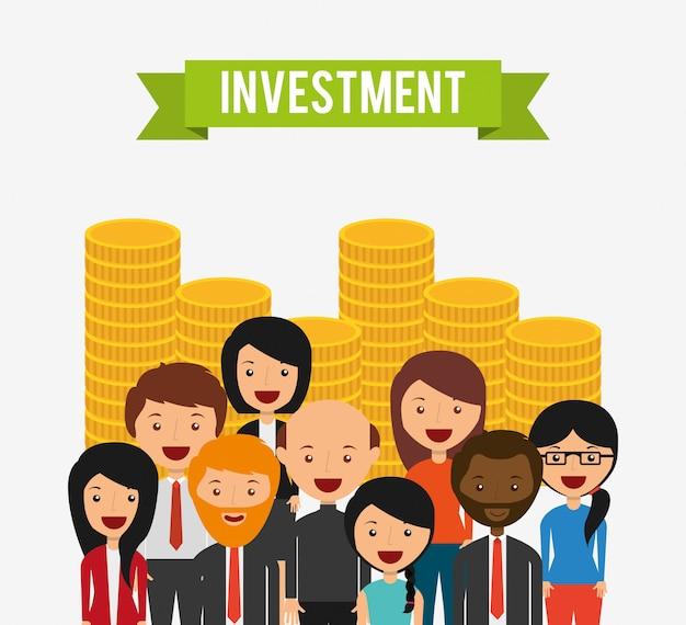 Conception de concept d'investissement