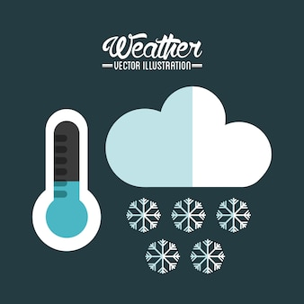 Conception de concept météo