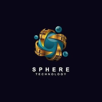 Conception de conception de logo 3d de base