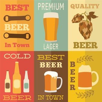 Conception conceptuelle à bière