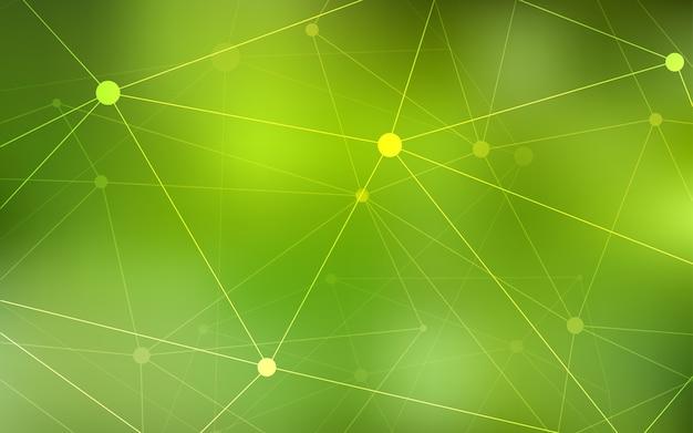 Conception avec connexion de points et de lignes