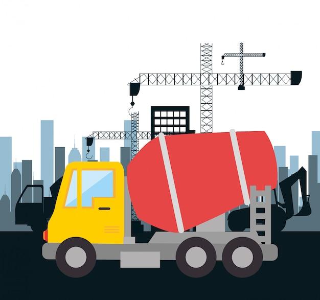 Conception de construction de machines isolée