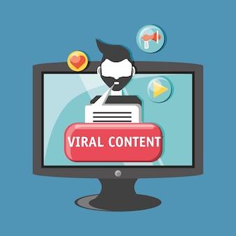 Conception de contenu viral