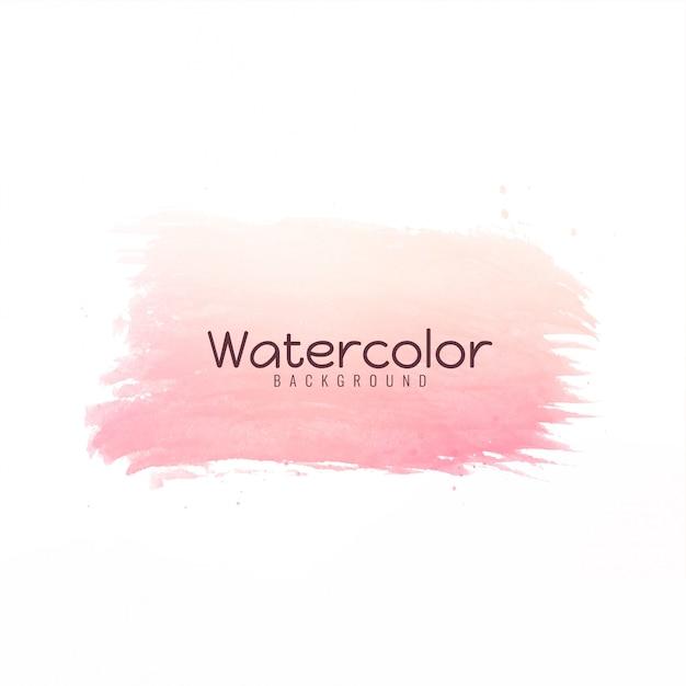 Conception de coup de pinceau de couleur vive moderne