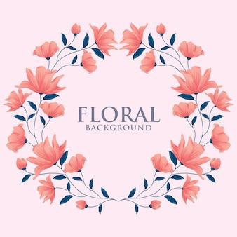 Conception de couronne florale