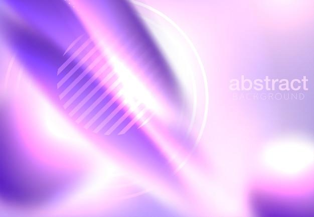 Conception de la couverture abstraite. affiche moderne avec des sphères colorées de corps mou. illustration 3d vectorielle de bulles pressées