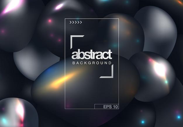 Conception de la couverture abstraite