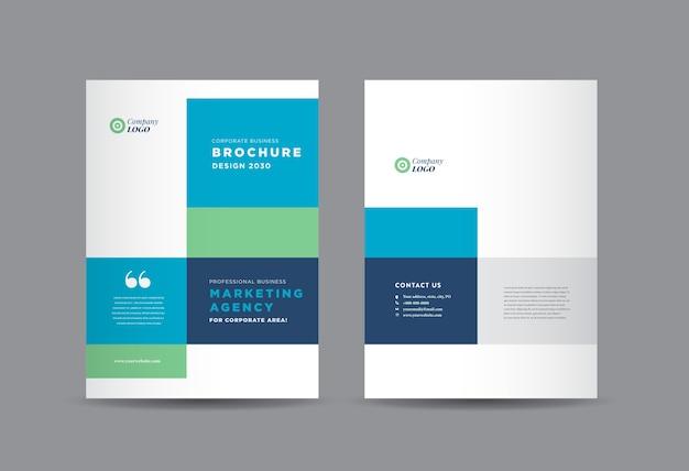 Conception de la couverture de la brochure commerciale, couverture du rapport annuel et du profil de l'entreprise, livret.