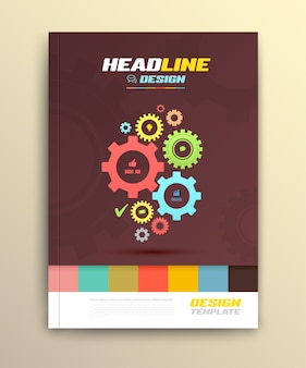 Conception de la couverture de la brochure
