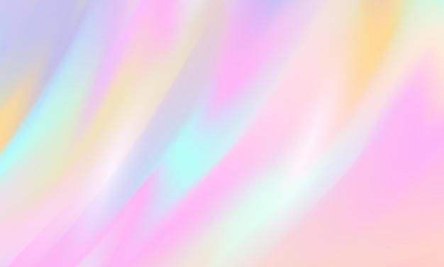 Conception de couverture de carte postale ou de brochure de formes abstraites modernes avec une palette de couleurs pastel et un fond dégradé