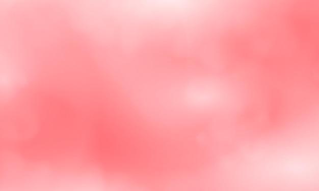 Conception de couverture de carte postale ou de brochure de formes abstraites modernes avec une palette rouge de couleur pastel et un fond dégradé