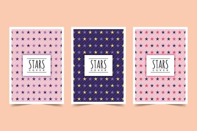 Conception de la couverture des étoiles
