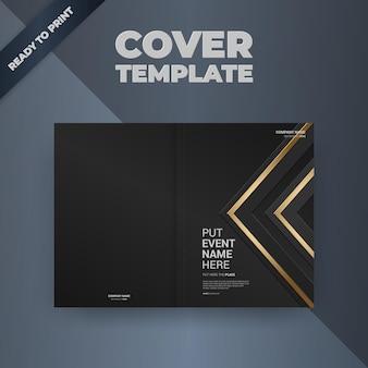 Conception de couverture de modèle de conception de brochure flyer