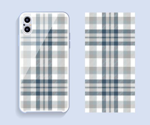 Conception de couverture de téléphone portable. cas de modèle de smartphone.