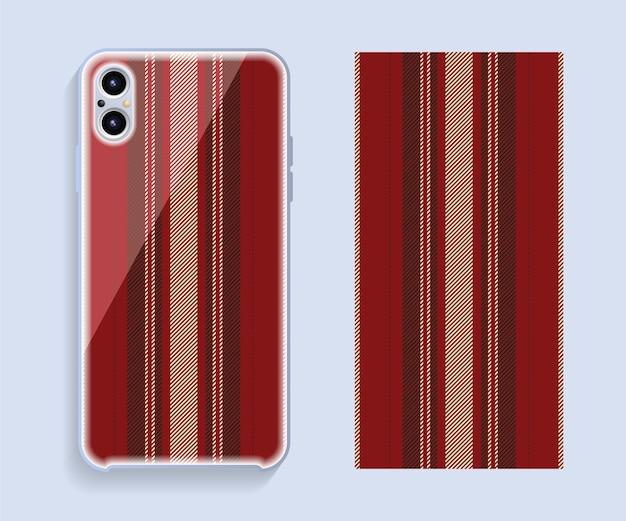 Conception de couverture de téléphone portable, modèle de couverture de téléphone