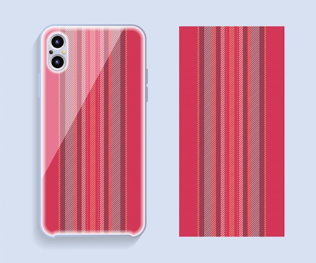 Conception de couverture de téléphone portable.