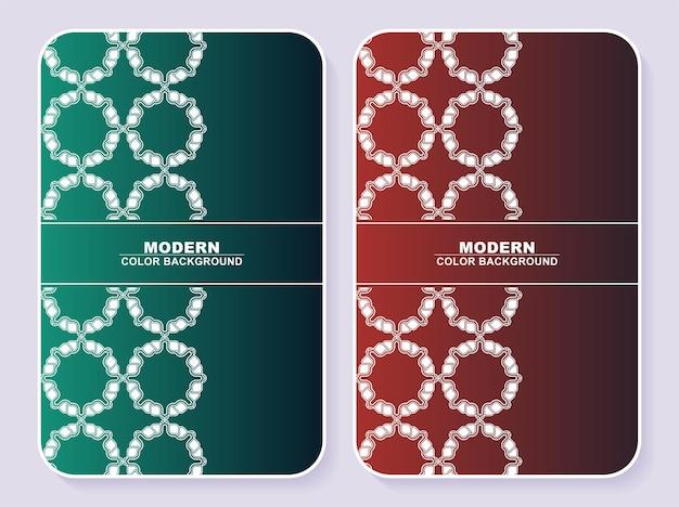 Conception De Couvertures Minimales Colorées Abstraites Vecteur Premium