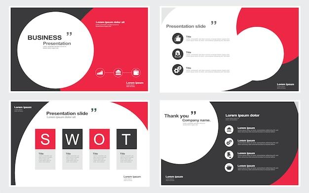 Conception créative du rapport annuel d'entreprise modèle de rapport et présentations conception créative de la brochure
