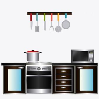 Conception de la cuisine.