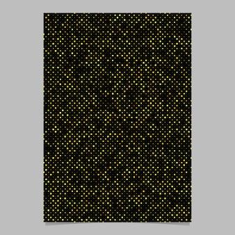 Conception d'affiche de modèle de point abstrait