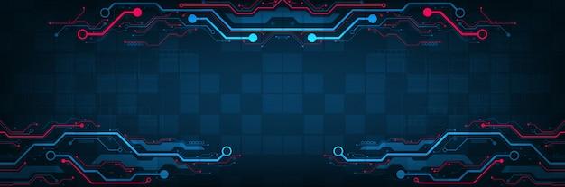 Conception dans le concept de circuits électroniques.