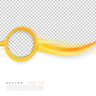 Conception de fond abstrait vectorielle.